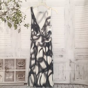 Moschino Cheap and Chic sleeveless rayon dress